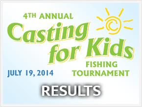Casting for Kids 2014 - Results